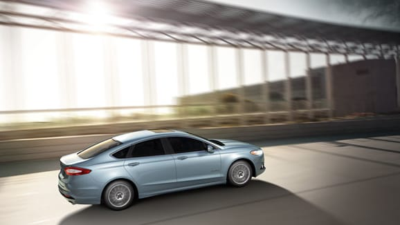 2014 Ford Fusion Exterior Rear End