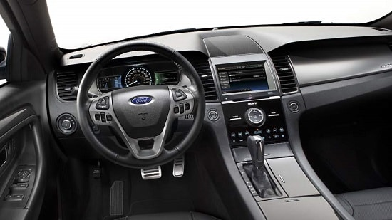 2015 Ford Taurus SHO Interior