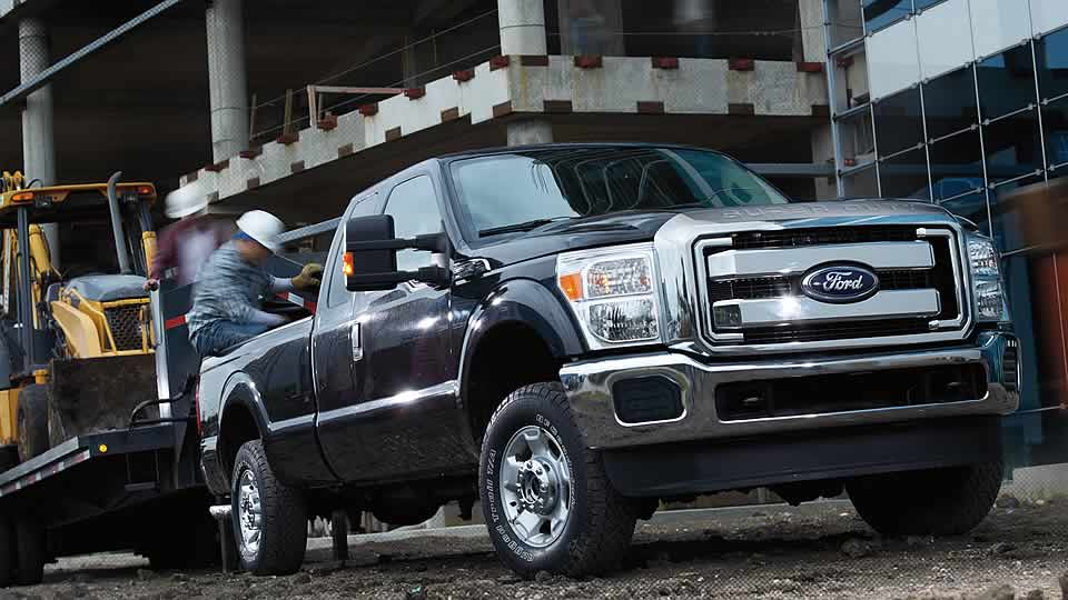 2015 Ford F-250 XLT Exterior Front