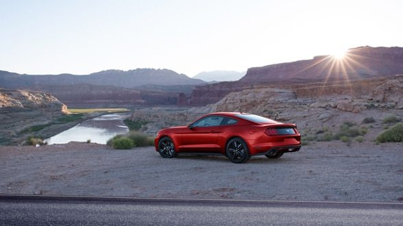 2017 Ford Mustang Exterior Rear End