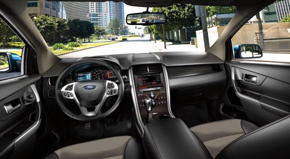 2013 Ford Edge SEL Interior Dashboard