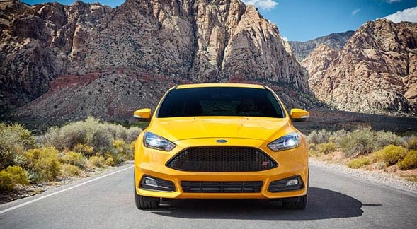 2015 Ford Focus ST Exterior Front End