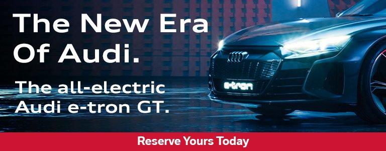 Audi Victoria - The all electric e-tron GT