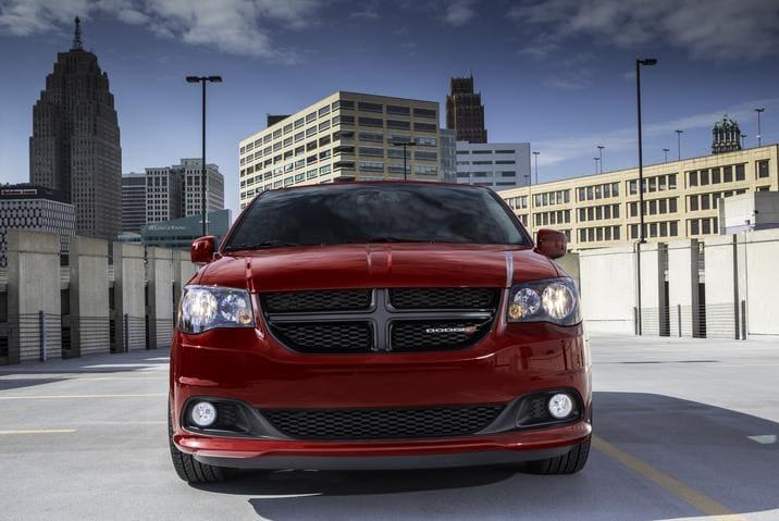 2017 Dodge Grand Caravan SXT Blacktop Package