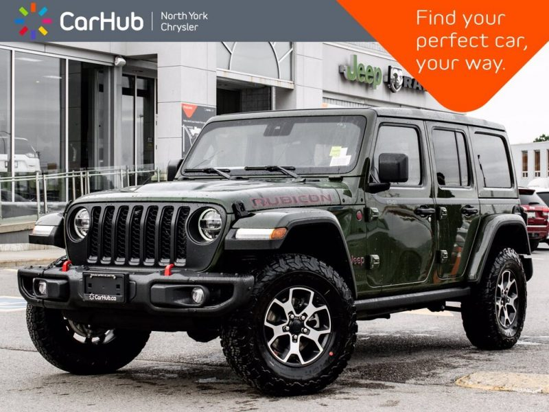 Jeep Wrangler green colour personality