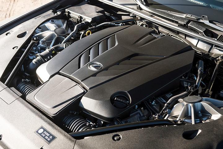 Lexus LC Convertibe Engine