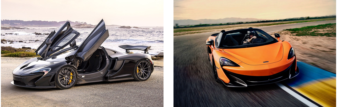 McLaren à vendre à Montréal
