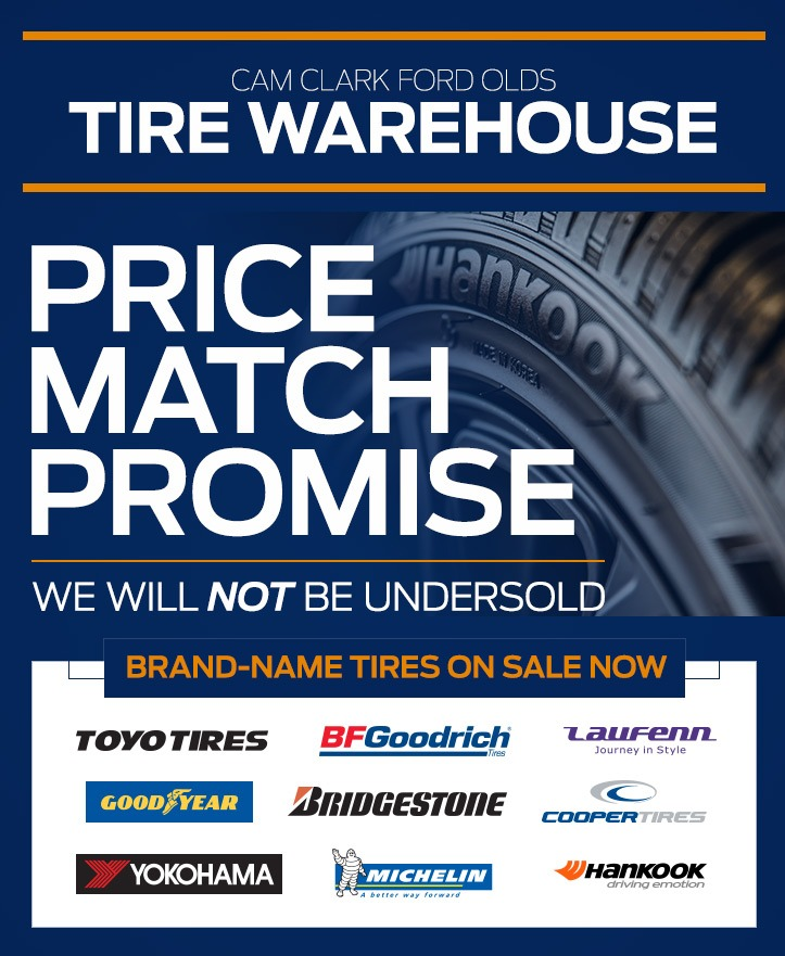 Tires On Sale at Cam Clark Ford