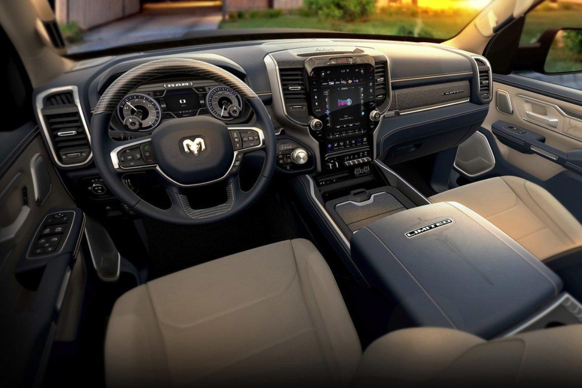 2021 RAM 1500 interior