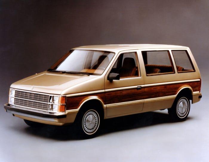 history of the minivan