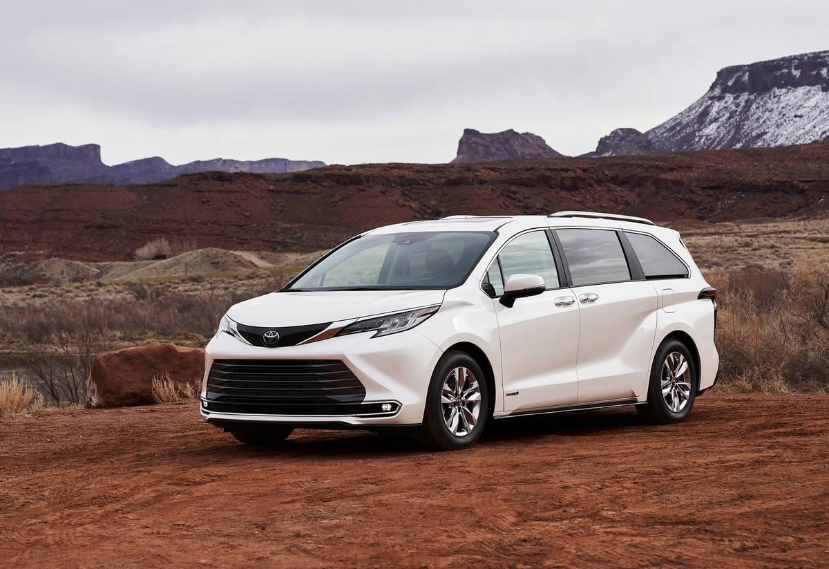 Toyota Sienna - Best minivan Canada