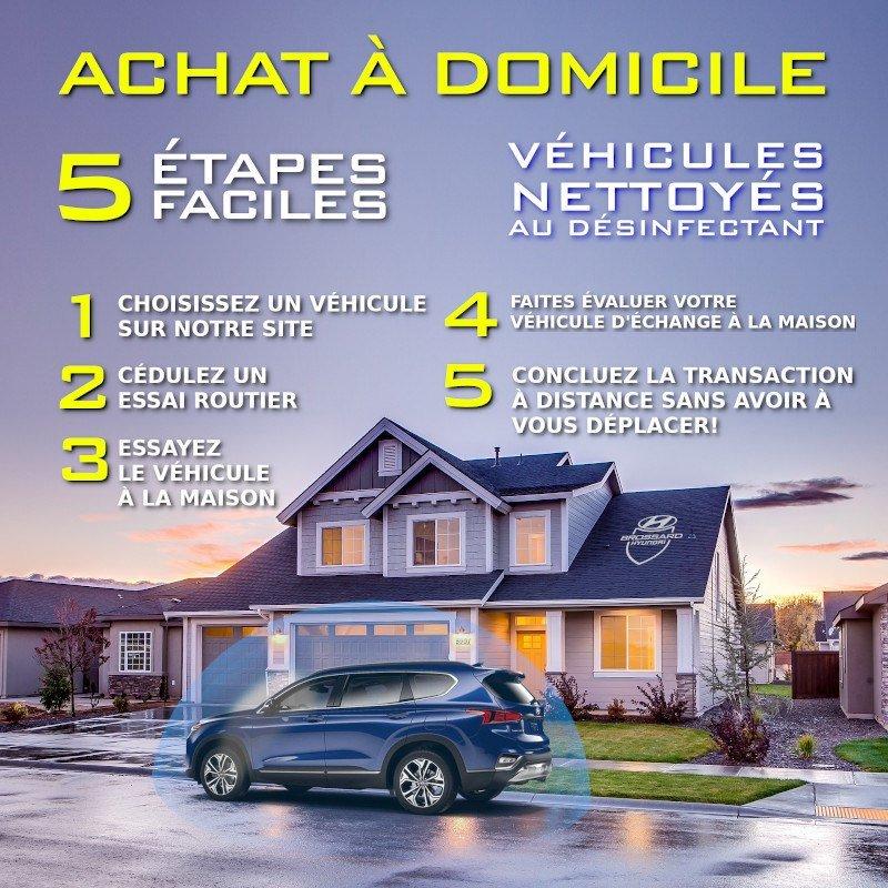 Achetez de votre domicile avec Brossard Hyundai
