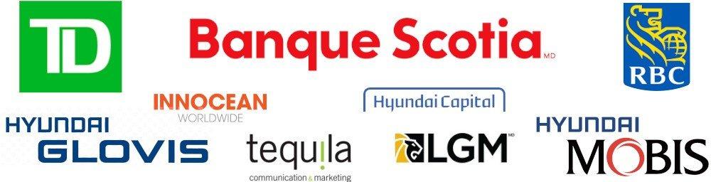 Tout employé de la Banque Scotia, Banque Royale du Canada, la Banque TD, Hyundai Capital, Innocean, Tequila, Glovis, Mobis et LGM est admissible au programme Partenaires VIP Hyundai