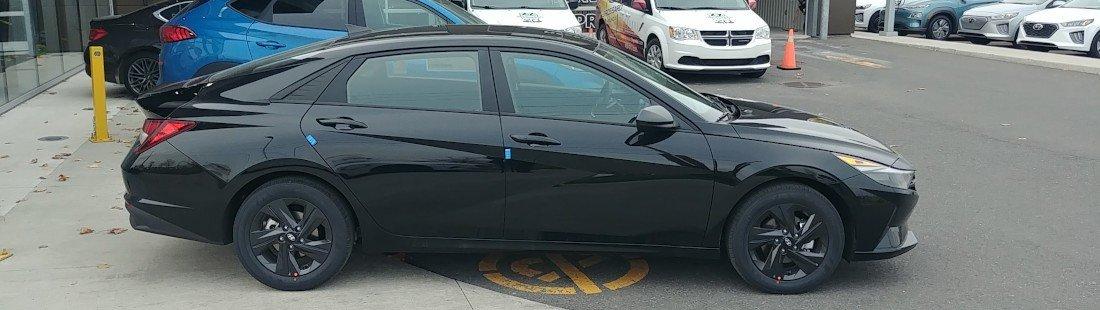 la toute nouvelle Elantra 2021 est disponible chez Brossard Hyundai
