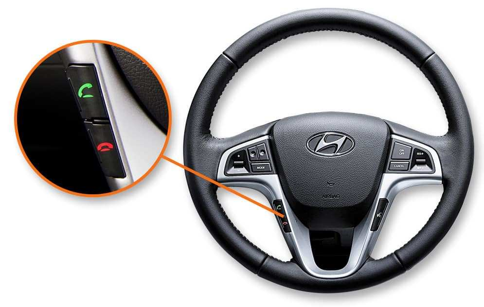 2017 Hyundai Accent Steering wheel controls