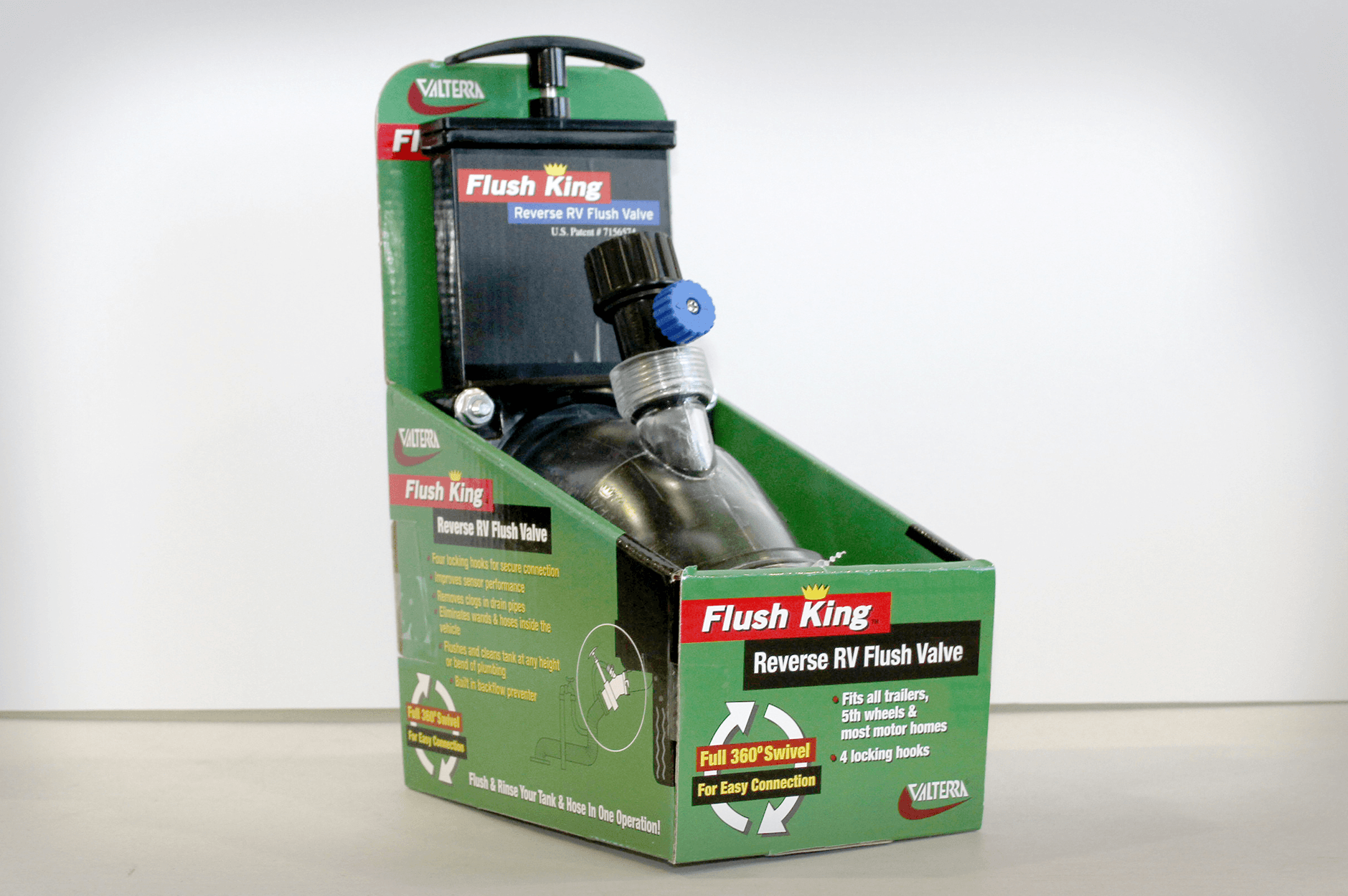 Flush King Reverse RV Flush Valve